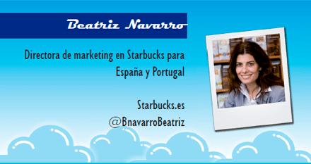 El perfil emprendedor de: Beatriz Navarro, starbucks.com