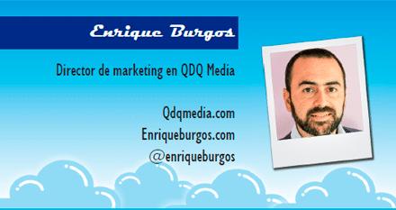 El perfil emprendedor de: Enrique Burgos, qdqmedia.com