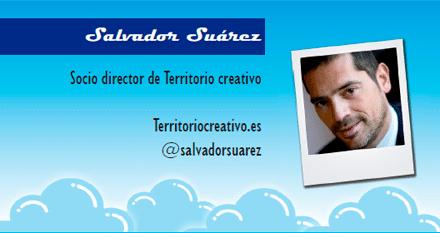 El perfil emprendedor de: Salvador Suárez, territoriocreativo.es