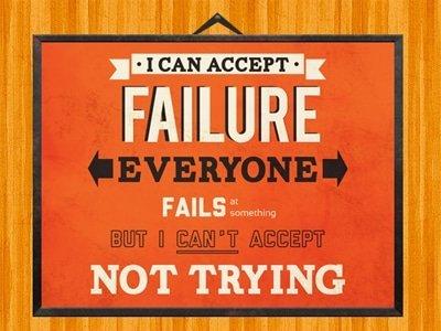 aprender de los fallos