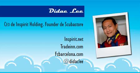 El perfil emprendedor de: Dídac Lee, inspirit.net