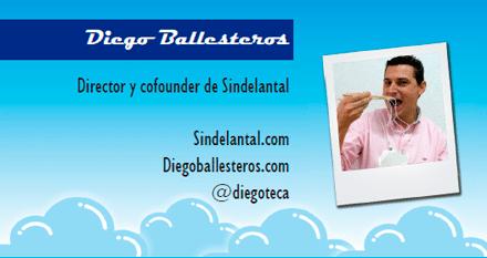 El perfil emprendedor de: Diego Ballesteros, sindelantal.com
