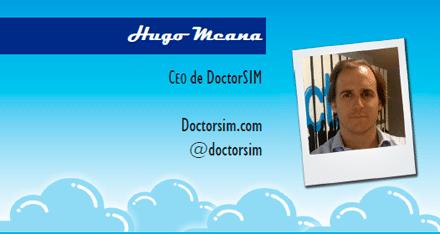 El perfil emprendedor de: Hugo Meana, doctorsim.com