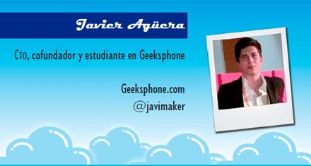 El perfil emprendedor de: Javier Agüera, geeksphone.com