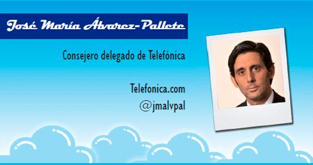 El perfil emprendedor de: José María Álvarez-Pallete, movistar.es