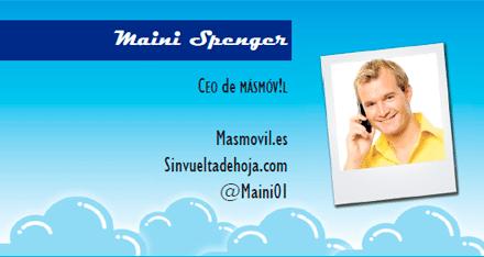 El perfil emprendedor de: Maini Spenger, masmovil.com
