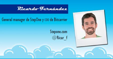 El perfil emprendedor de: Ricardo Fernández, stepone.com