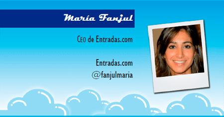 El perfil emprendedor de: María Fanjul, entradas.com