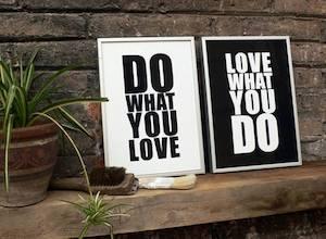 trabajo y pasión