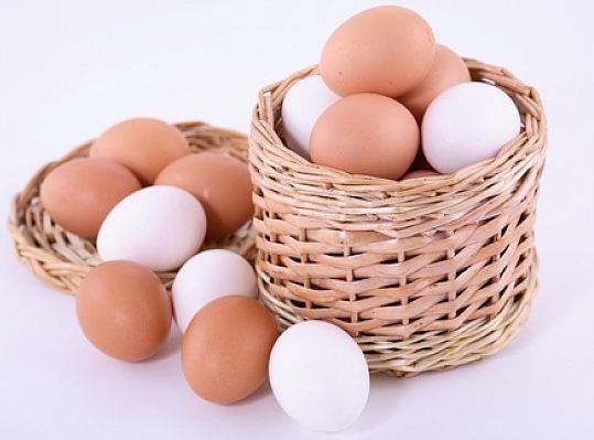 huevos-cesta y ventas