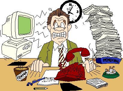 Personas de éxito y estrés