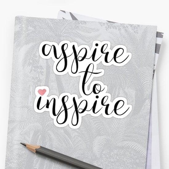 Cómo inspirar