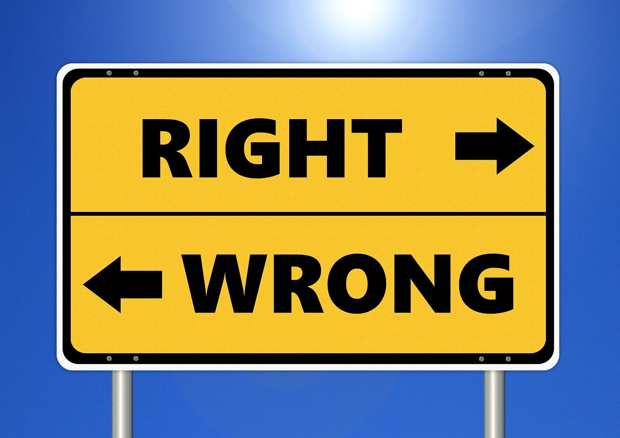 ethics, right, wrong