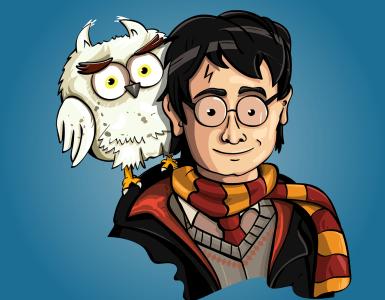 harry potter, fan art, the wizard