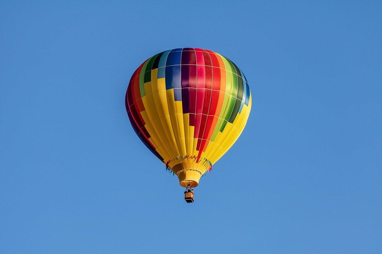 hot air balloon, balloon, aircraft