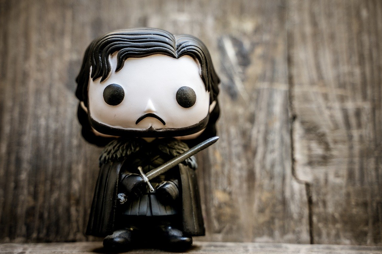 john snow, game of thrones, figure