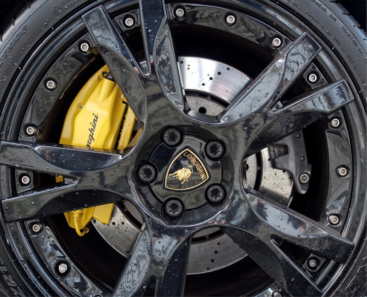 lamborghini, wheel, car