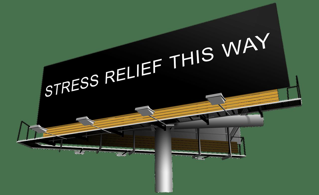 stress, relief, help