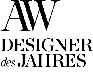 Logo AW Designer des Jahres
