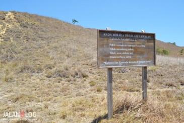 Peraturan Taman Nasional Komodo