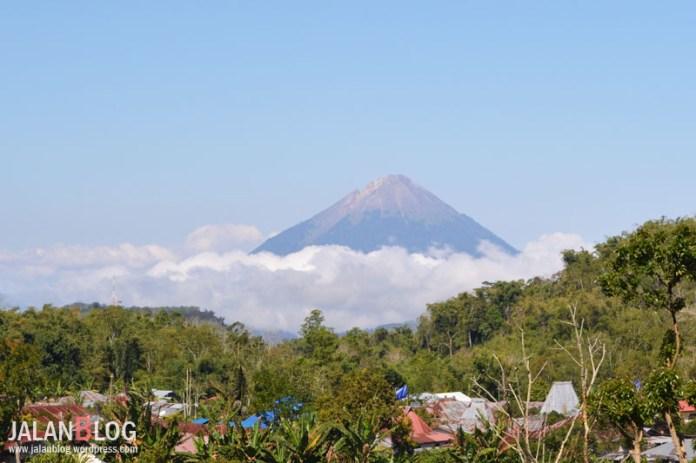 Gunung Elubobo yang mirip Gunung Fuji