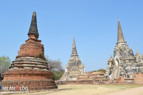 Sudut lain Wat Phra si Sanpet