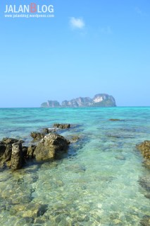 Salah satu sudut Bambo Island yang agak sepi