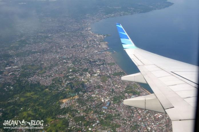 Siap2 mendarat di Manado