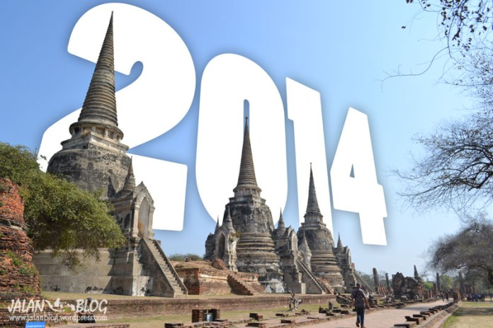 Awal 2014 di Ayutthaya