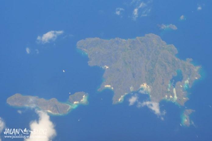 Salah satu pulau di El Nido