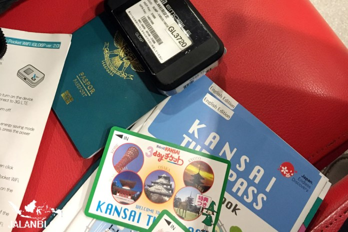 e-passport, Kansai Thru Pass dan Pocket Wifi