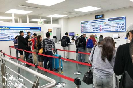 tempat penukaran JR pass