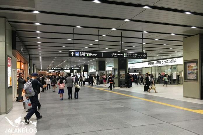 Stasiun yang selalu ramai