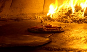 wood fired pizza napoli