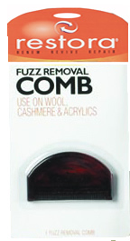Fuzz Removal Comb
