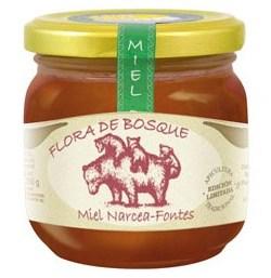 Miel de Flora del Bosque pura 250 gr