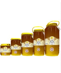 Miel cruda de Carrasca en garrafa