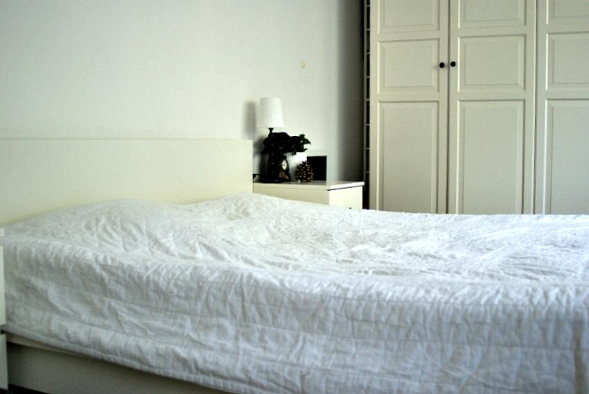 Gemachtes Bett
