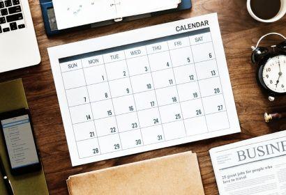 Kalender als Planungshilfe