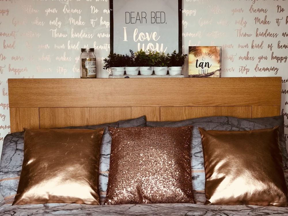 Jeden Morgen das Bett machen