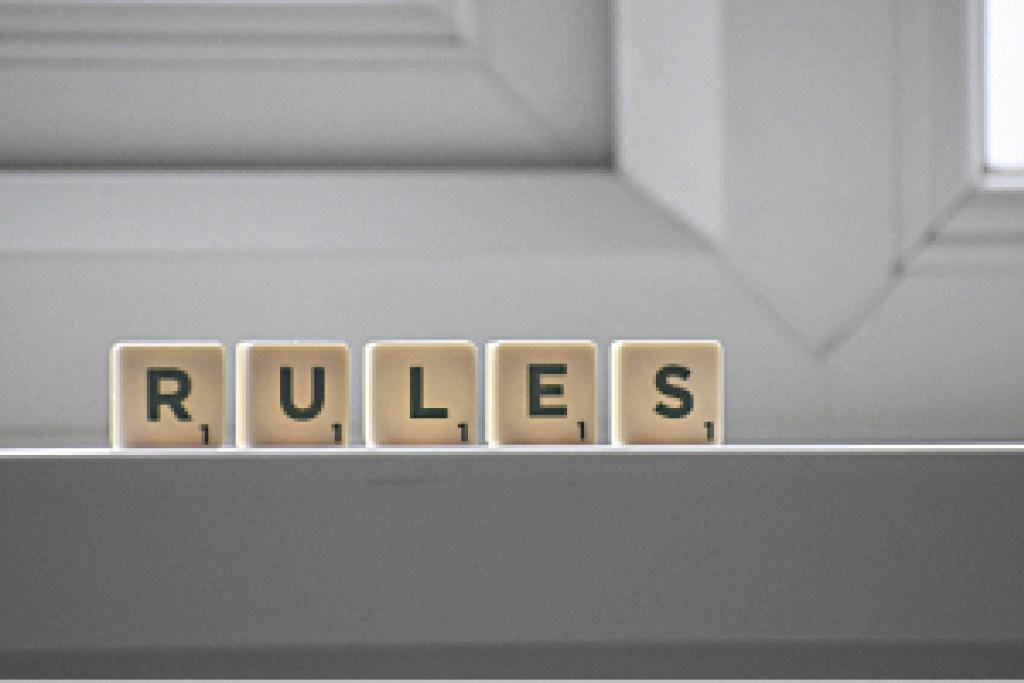 Die 6 Regeln der Organisation- mache deine eigenen Regeln