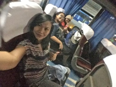 Bus trip bound to Batangas Grand Terminal :)