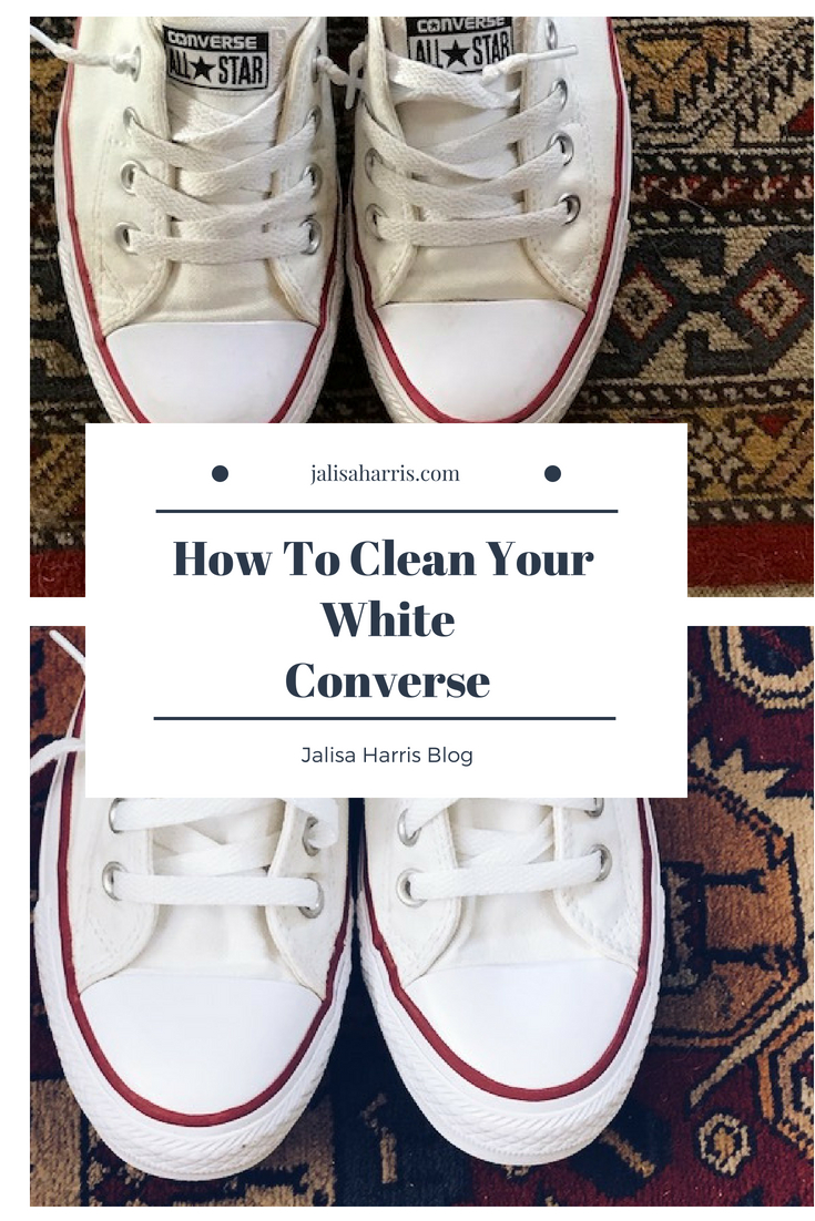 Cleaning your white Converse