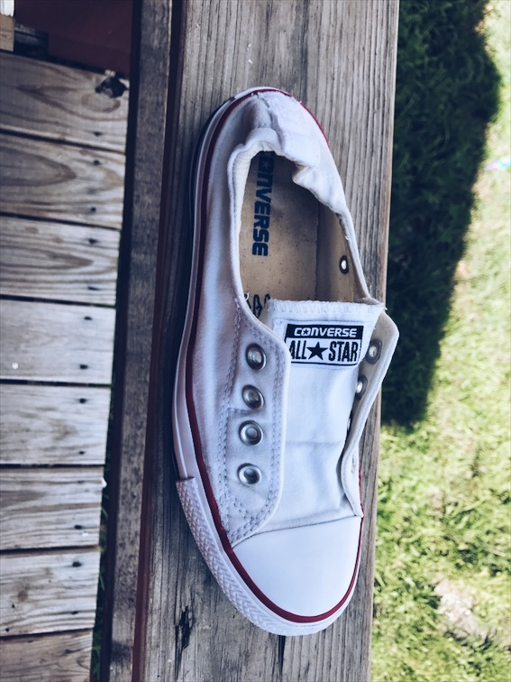How To Clean Your White Converse