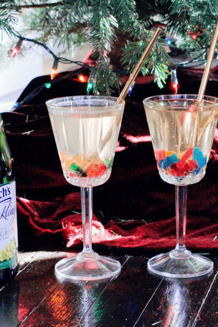 New Years Eve Inspired Kids Mocktail