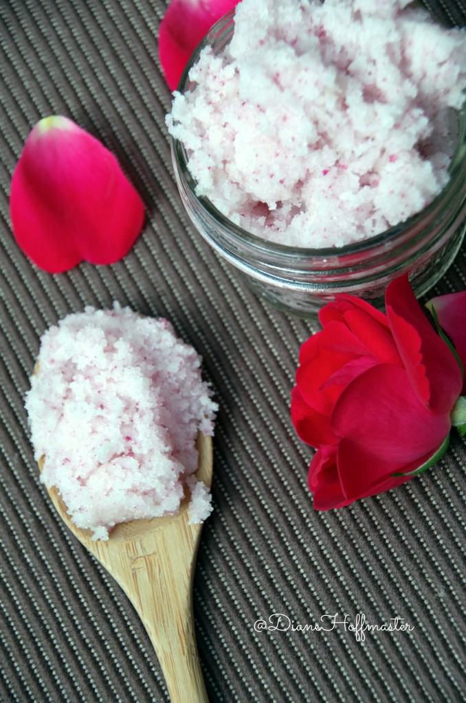 Rose Sugar Scrub