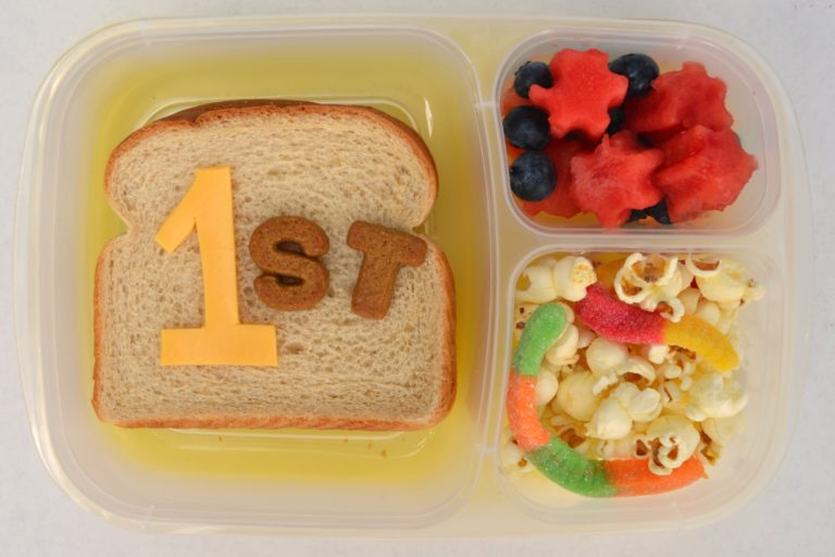 Ideal first day lunches