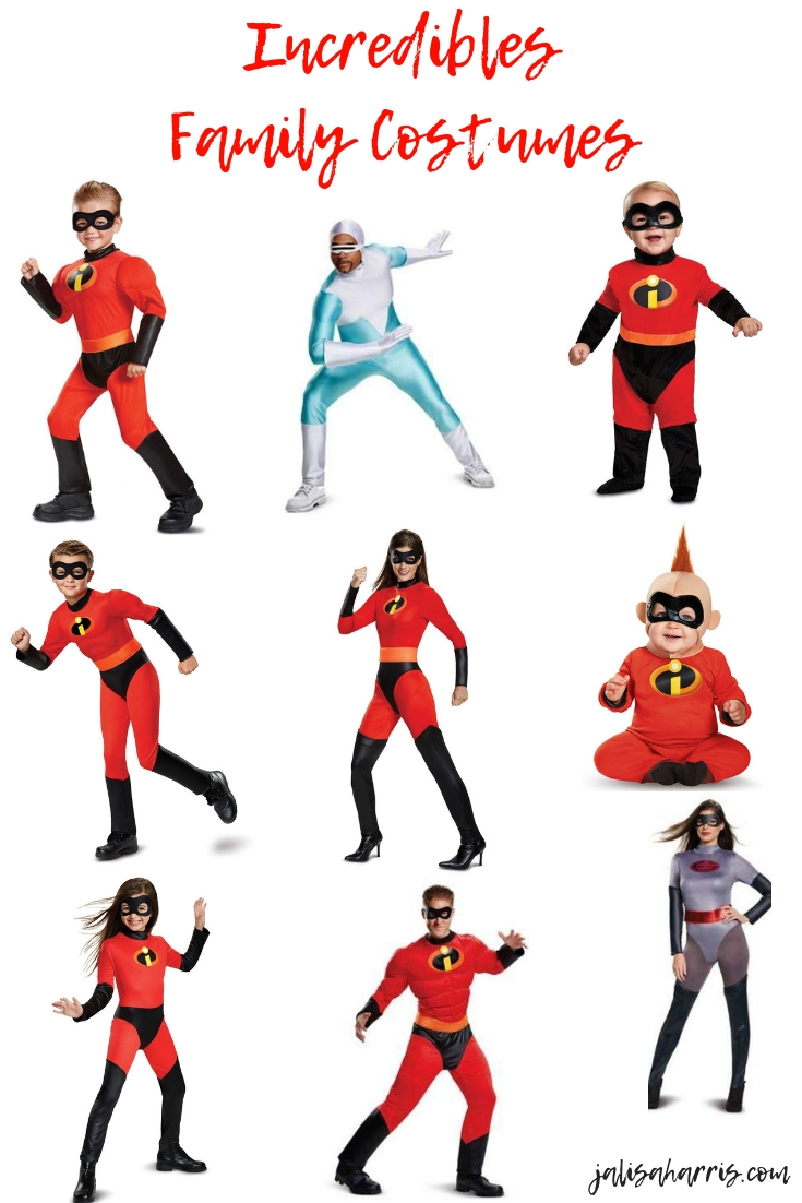 Incredibles Family Costumes Pin