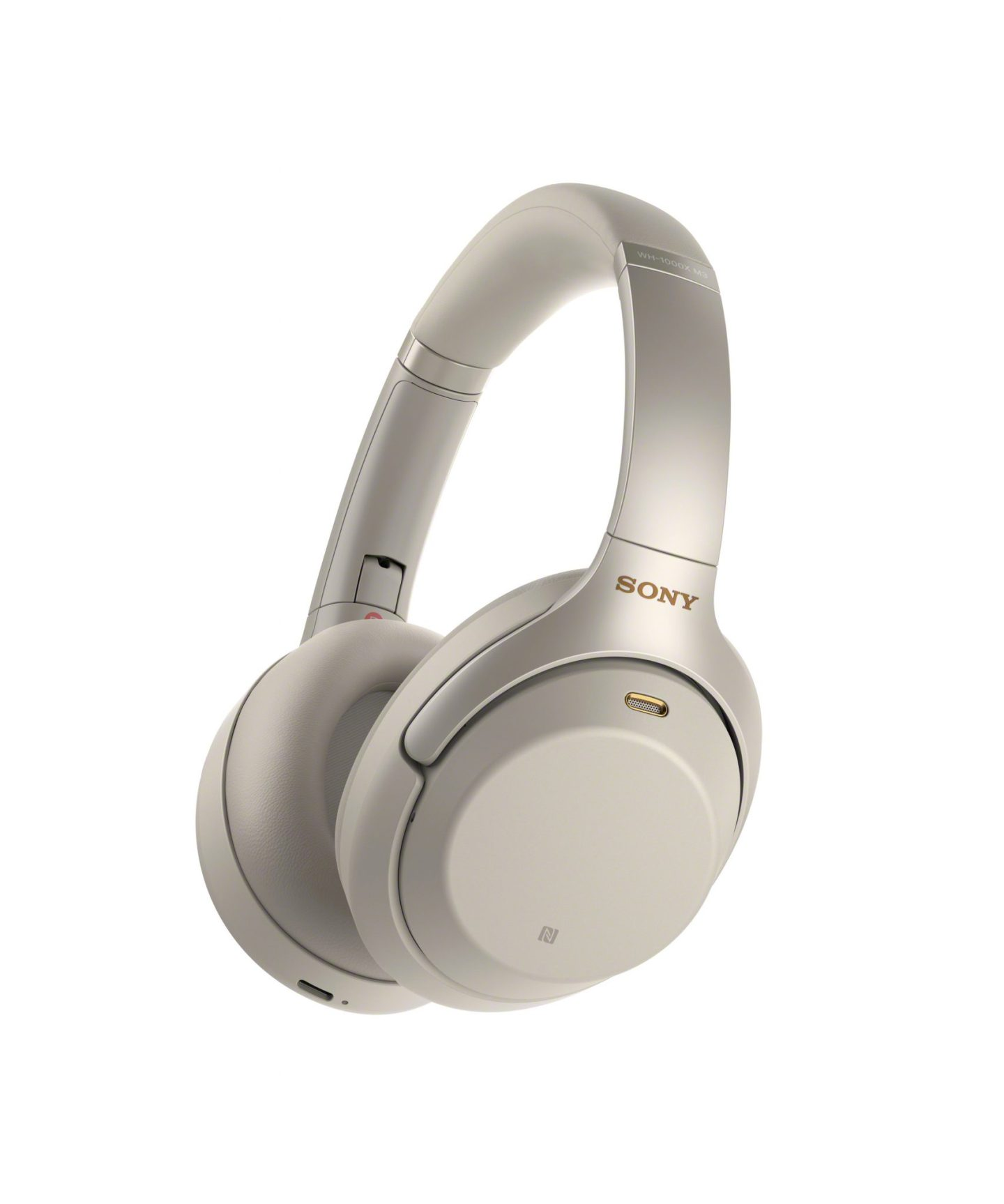 Sony Noise Canceling Headphones In White