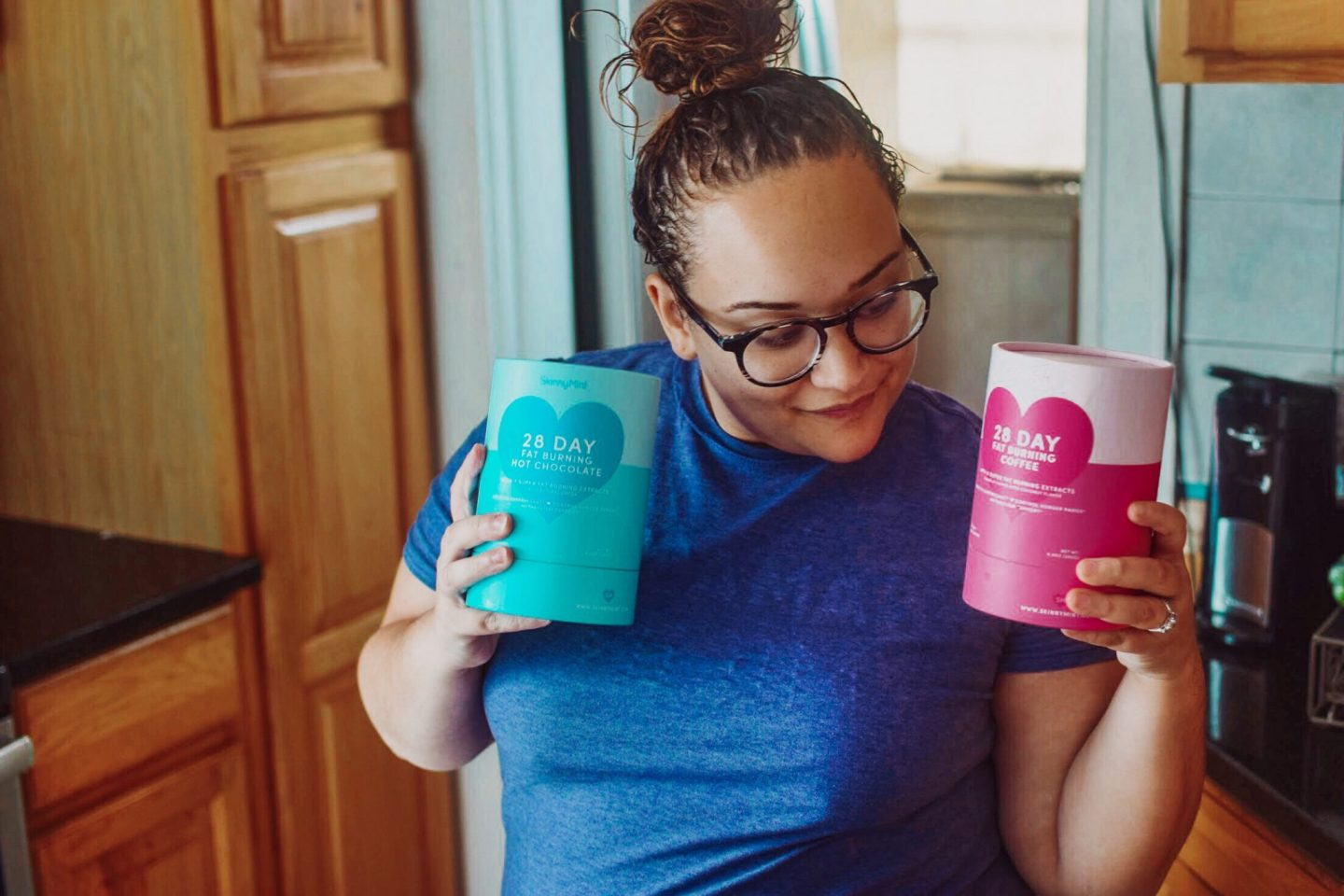 LOSING 8 POUNDS WITH SKINNYMINT'S COFFEE + HOT CHOCOLATE